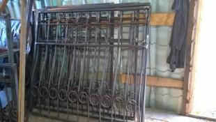 Дутые кованые решетки