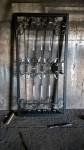 Стальная решетчатая дверь