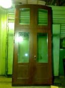 Металлическая дверь с окошком