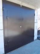 Недорогие гаражные ворота заказать изготовление