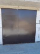 Дешевые ворота в гараж с калиткой в Клину