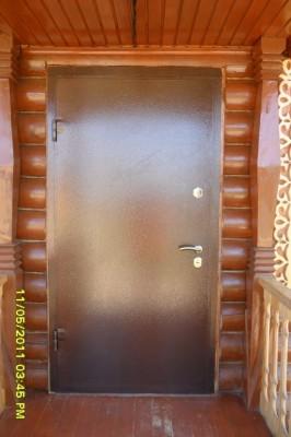 Готовые стальные двери