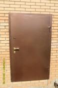 Дверь в гараж с антивандальным покрытием