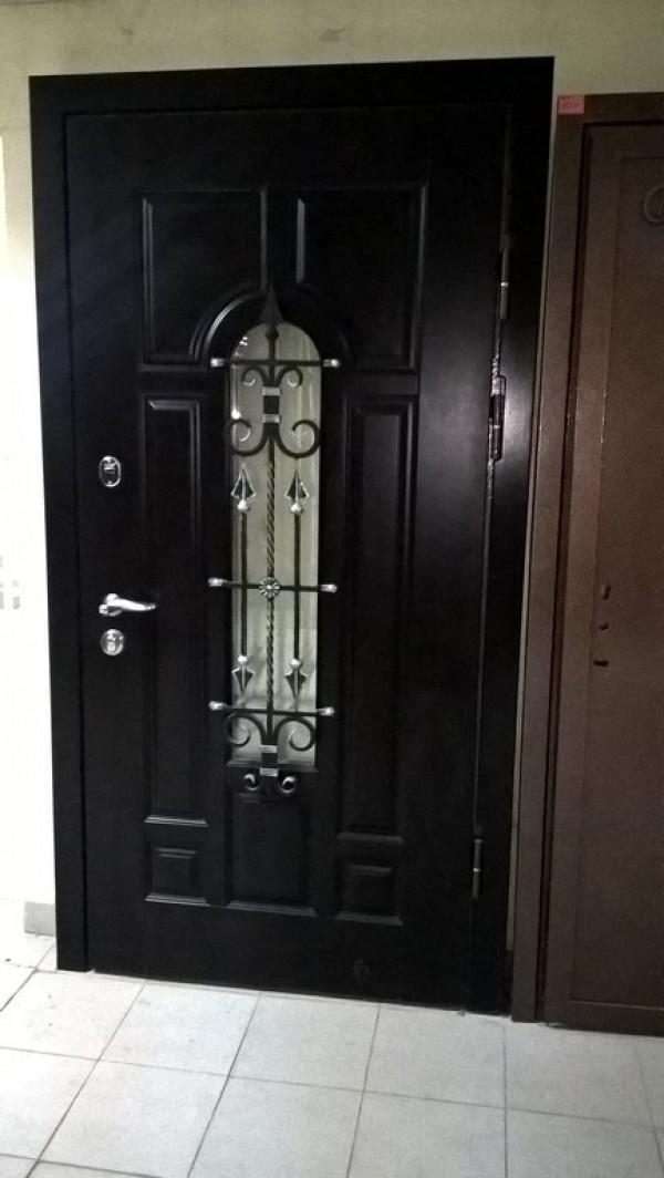 художественная ковка стальные двери дмитров