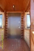 Стальная дверь в баню