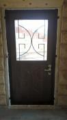 Недорогие двери с остеклением заказать