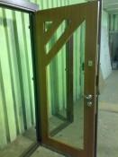 Дверь стальная с зеркалом внутри