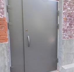 Взломостойкие стальные двери