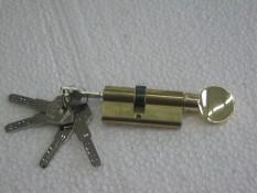 Личина турецкой фирмы Каle с перфорированным ключом и вертушком внутри