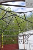 Сварная крыша для беседки