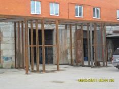 металлоконструкция из швеллера Каширское шоссе