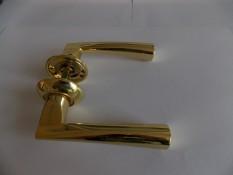 Ручка дверная Армадилло Columba - золото+мат. золото