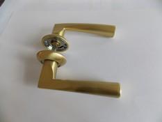 Ручка дверная Армадилло Columba - мат.золото+никель