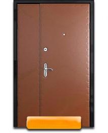 Тамбурная дверь с двух сторон винилискожа