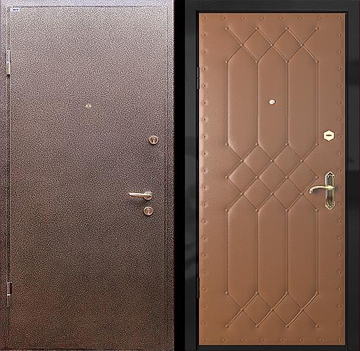 сколько стоит входная стальная дверь с порошковым напылением