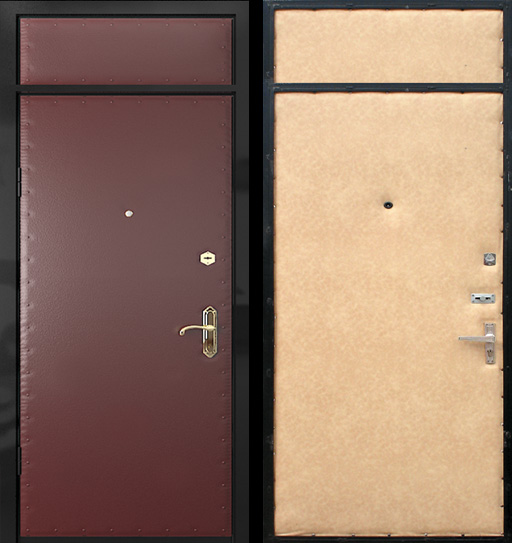 входные двери металлические недорого со вставкой