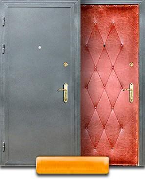 стальные двери с порошковым напылением в мытищах