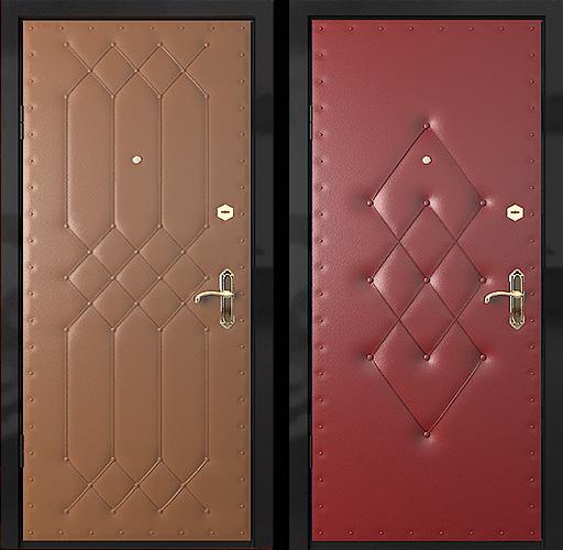дутые двери входные