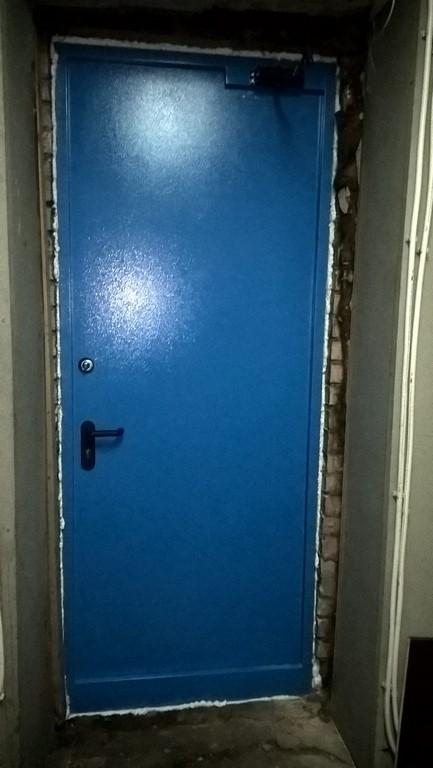 поставить дверь металлические от завода люберцы